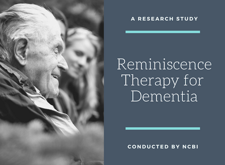 Reminiscence Therapy for Dementia