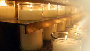 Service of Remembrance Candles