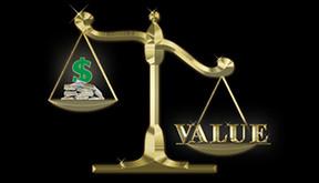 Scale Money Value