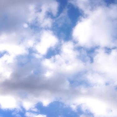 Clouds (Blue & White)