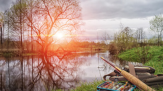 SL14 Fishing Reflection