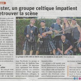 Article Le Dauphiné  du 01.04.2021