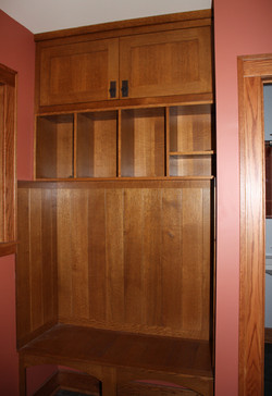 Lockers and mudroom benches