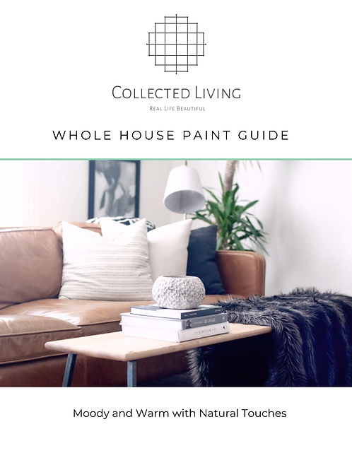 Paint Guide: Warm & Moody with Natural Touches