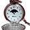 Moon Phase Full Hunter Quartz pocket watch