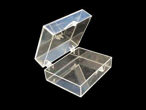 5 x Clear Plastic Parts / Accessory Storage Box