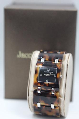 Jacob Thomas Ladies Wristwatch - Tortoise Shell Design