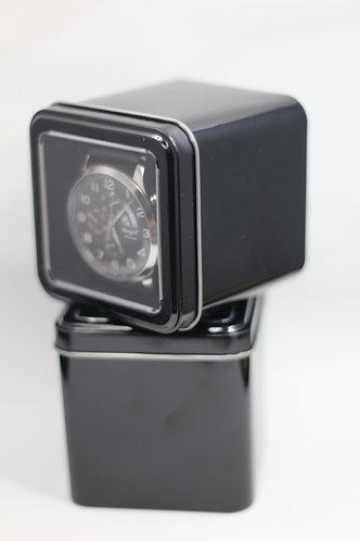 Black Square Aluminium Watch/Bracelet Display Boxes