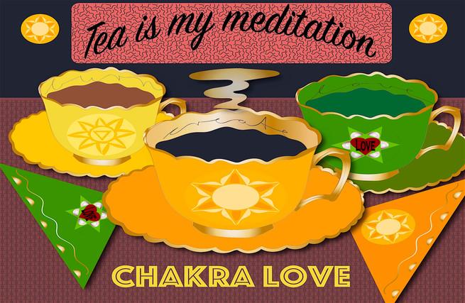 Tea is my medtation