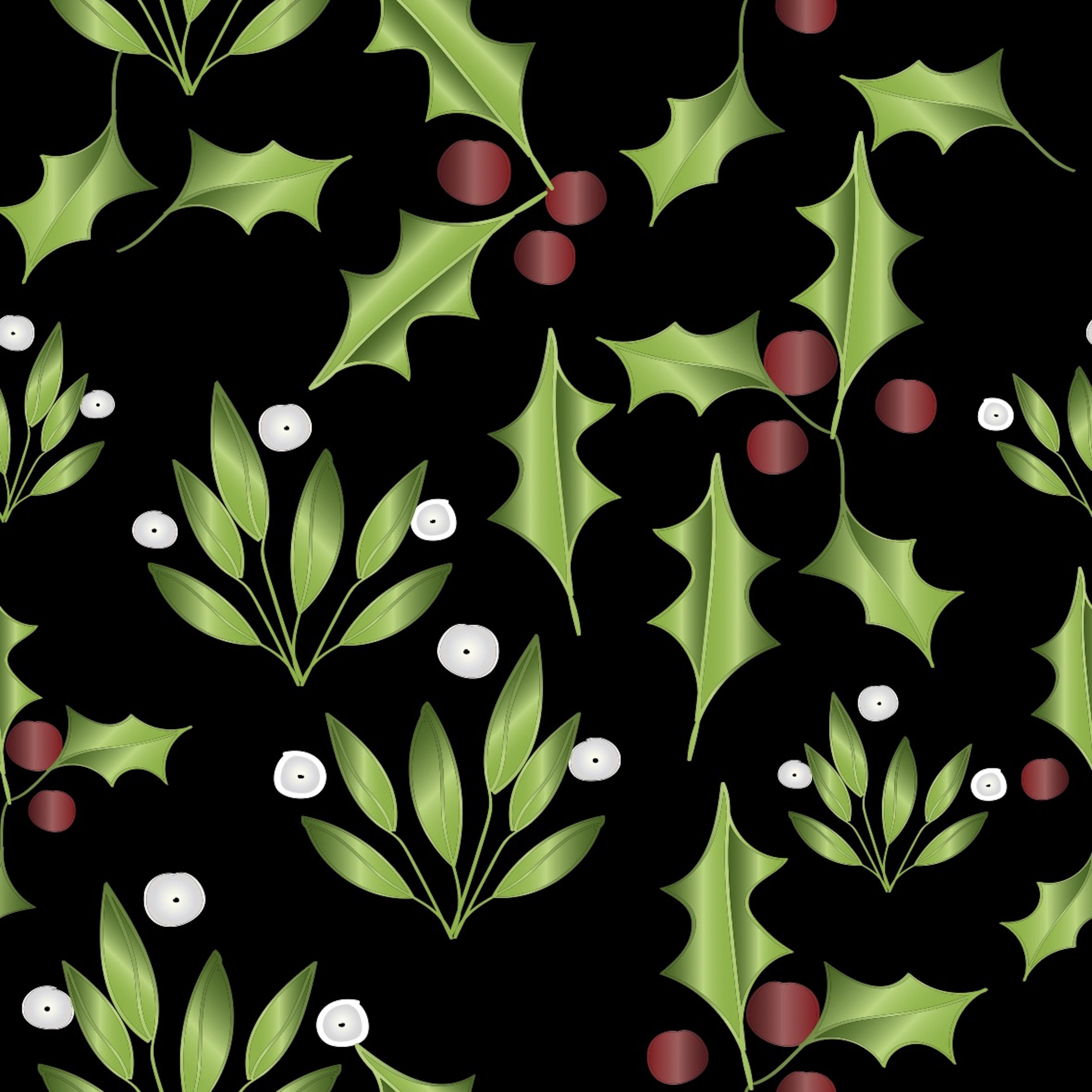 Mistletoe and Ilex