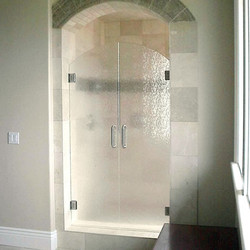 Arched French Shower Doors