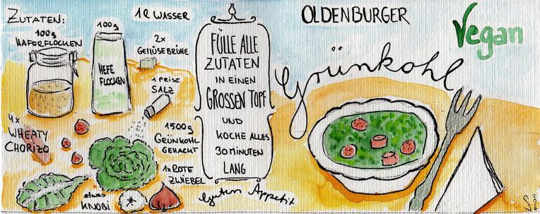 Veganer Grünkohl Rezept