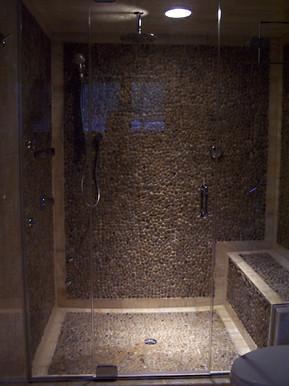 Frameless Glass Shower Enclosure - Noble Shower Doors