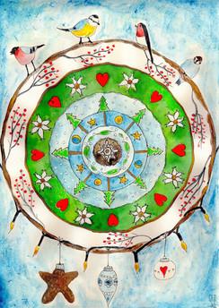 Bird Mandala