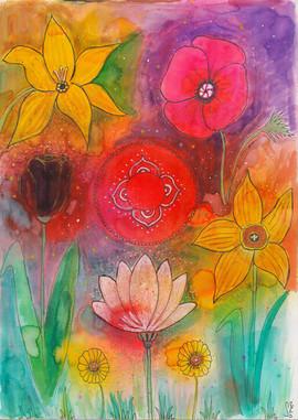 Muladhara flowers