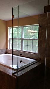 Frameless Glass Corner Shower Enclosure - Noble Shower Doors