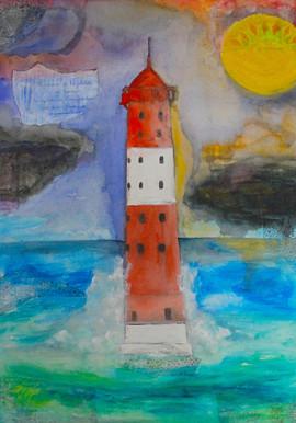 Arngaster Leuchtturm