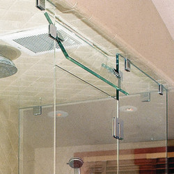 Frameless Glass Transom - Steam Unit
