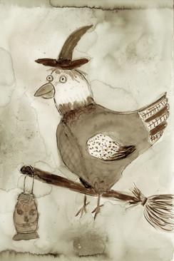 Halloween chicken