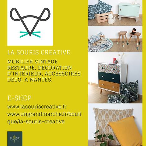 Mobilier vintage restauré, décoration d'intérieur, accessoires à Nantes