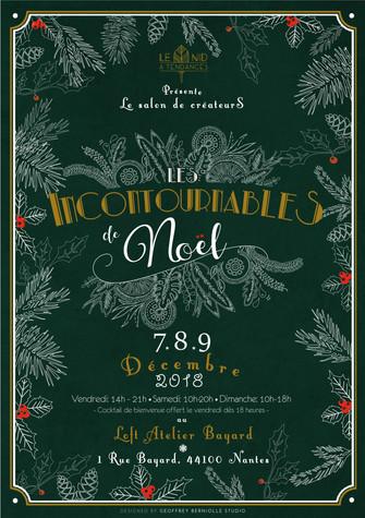 marché de Noël de créateurs Les Incontournables Nantes