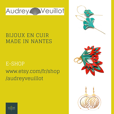Bijoux en cuir haute fantaisie Audrey Veuillot