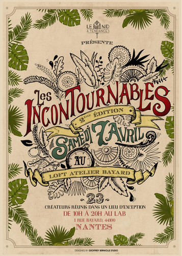 2ème édition du salon de créateurs Les Incontournables à Nantes