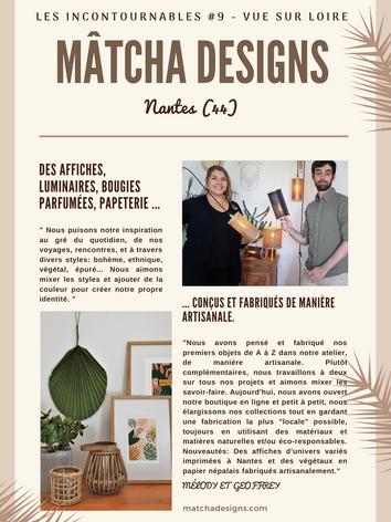 mâtcha designs