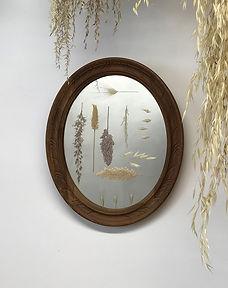 miroir végétal l'oiseau verre.JPG