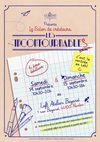 salon de créateurs Les Incontournables #6 à Nantes