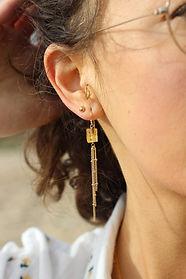 boucles d'oreilles après la pluie bijoux