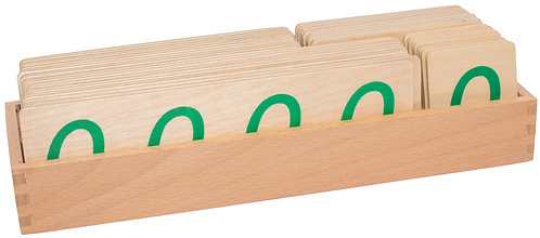Large Wooden Decimal Symbols with Zeros