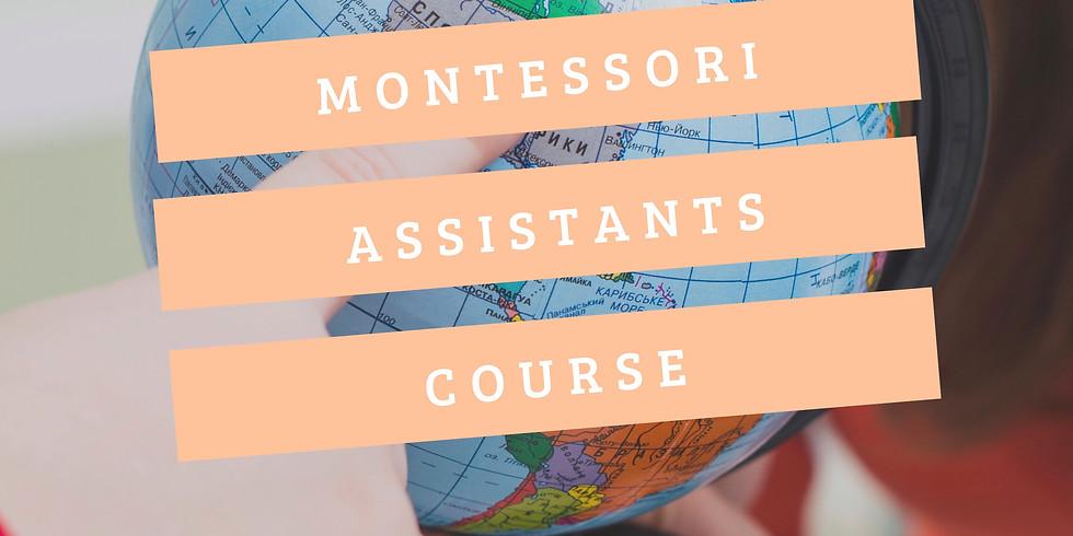 Montessori Assistants Course