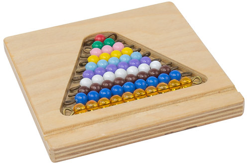 Color Bead Stair - Set of 5 with Bead Tray