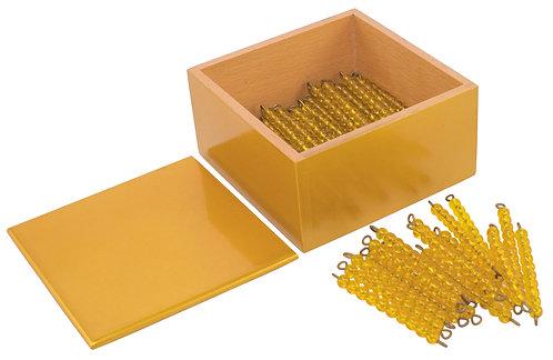 Multiplication Bead Bars, Answer Box: Ten Bars