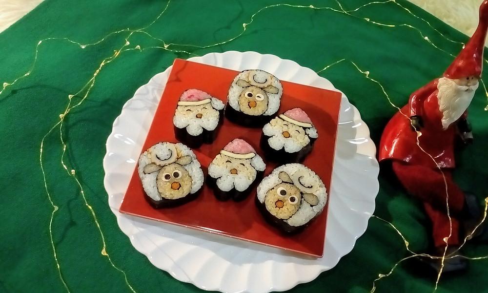 今年のクリスマスは巻き寿司を作りませんか?