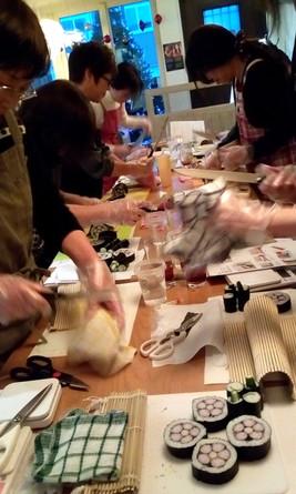 飾り巻き寿司ワークショップ
