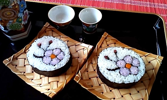 おもてなしに最適な飾り巻き寿司のお稽古は札幌の「巻き寿司教室Design」で単発レッスンがおすすめ