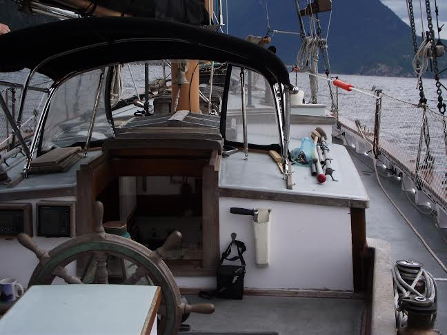 helm and aft cabin