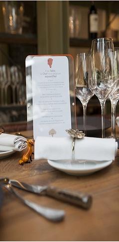 Repas de groupes 2 - La Table du Luxembo
