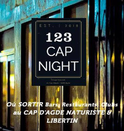 Logo CapNight - Guide Libertin Cap d'Agd