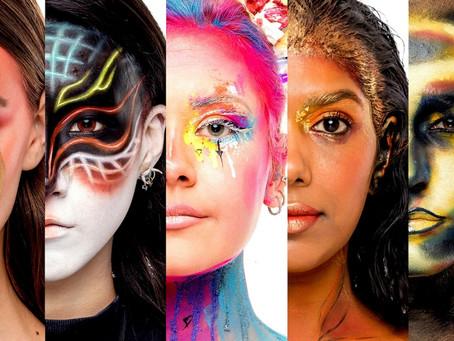 Maquiagem sem limites em Glow Up