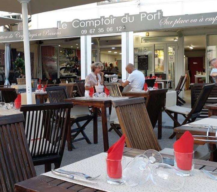 Restaurant - Le Comptoir du Port - Cap d'Agde Naturiste