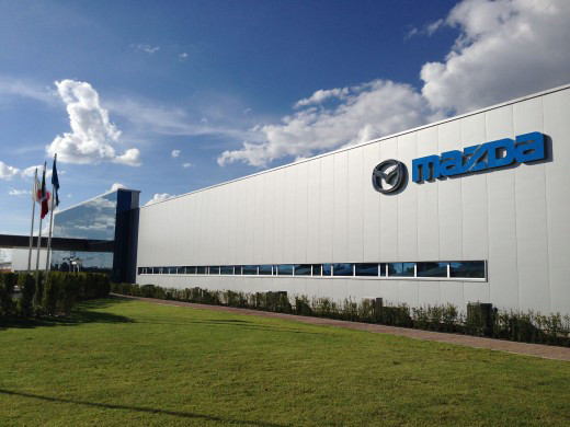 Mazda's most recently opened production factory in Salamanca, in the state of Guanajuato