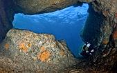 diving site Grotta di San Francesco sardinia