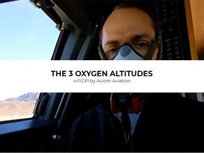3 OXYGEN ALTITUDES