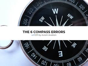 THE 6 COMPASS ERRORS