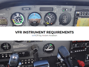 VFR DAY INSTRUMENT REQUIREMENTS