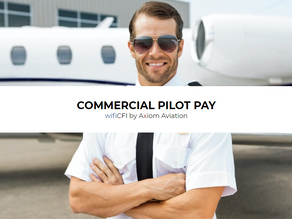 COMMERCIAL PILOT PAY