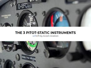 3 PITOT-STATIC INSTRUMENTS